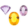 Estate Jewelry:Unmounted Gemstones, Unmounted Gemstones. ... (Total: 3 Items)