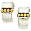 Estate Jewelry:Earrings, Gold, Sterling Silver Earrings, Lagos. ...