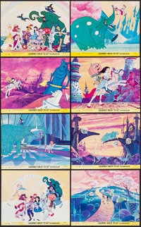 "Journey Back to Oz (Filmation, 1974). Mini Lobby Card Set of 8 (8"" X 10""). Animation. ... (Total: 8 Items)"
