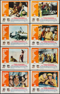 "Movie Posters:Adventure, The Flight of the Phoenix (20th Century Fox, 1966). Lobby Card Setof 8 (11"" X 14""). Adventure.. ... (Total: 8 Items)"