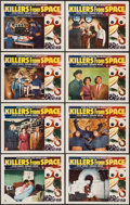 """Movie Posters:Science Fiction, Killers from Space (RKO, 1954). Lobby Card Set of 8 (11"""" X 14"""").Science Fiction.. ... (Total: 8 Items)"""