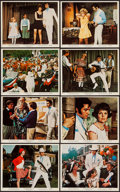 "Movie Posters:Elvis Presley, The Trouble with Girls (MGM, 1969). Color Photo Set of 8 &Photos (7) (8"" X 10""). Elvis Presley.. ... (Total: 15 Items)"