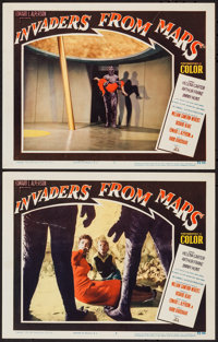 """Invaders from Mars (20th Century Fox, 1953). Lobby Cards (2) (11"""" X 14""""). Science Fiction. ... (Total: 2 Items..."""