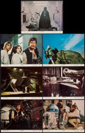 "Movie Posters:Science Fiction, Star Wars (20th Century Fox, 1977). Lobby Cards (7) (11"" X 14"").Science Fiction.. ... (Total: 7 Items)"