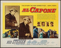 "Movie Posters:Crime, Al Capone (Allied Artists, 1959). Half Sheet (22"" X 28""). Crime....."