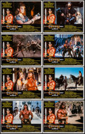 """Movie Posters:Action, Conan the Destroyer (Universal, 1984). Lobby Card Set of 8 (11"""" X14""""). Action.. ... (Total: 8 Items)"""