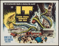 """Movie Posters:Science Fiction, It Came from Beneath the Sea (Columbia, 1955). Half Sheet (22"""" X28""""). Science Fiction.. ..."""