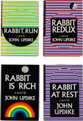 "Books:Literature 1900-up, John Updike. The Complete ""Rabbit"" Series. Titles include:Rabbit, Run; Rabbit Redux, Rabbit Is Rich; Rabbit at Rest.... (Total: 4 Items)"