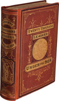 Books:Science Fiction & Fantasy, Jules Verne. Twenty Thousand Leagues Under the Seas. Boston:James R. Osgood, 1873. The true first American editio...