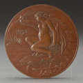 Bronze:American, ELIHU VEDDER (American, 1836-1923). Medal for ColumbianExposition, for the 400th Anniversary for the Landing ofColumbus...