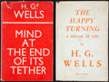 Books:Photography, H. G. Wells. Pair of First Edition Books.... (Total: 2 Items)