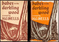Books:Literature 1900-up, H. G. Wells. Babes in the Darkling Wood. New York: [1940].With Prospectus.... (Total: 2 Items)