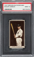 Baseball Cards:Singles (Pre-1930), 1912 T207 Recruit Edgar Lennox PSA MINT 9 - The One and Only MINTT207! ...