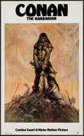 "Movie Posters:Action, Conan the Barbarian (Universal, 1980). Poster (22"" X 36"") Advance. Action.. ..."