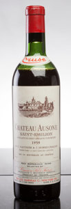 Red Bordeaux, Chateau Ausone 1959 . St. Emilion. ms, excellent color.Bottle (1). ... (Total: 1 Btl. )