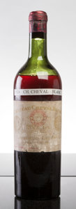 Red Bordeaux, Chateau Cheval Blanc 1924 . St. Emilion. ls, bsl, fl, nl,Nicolas Selection stampled labels, branding visible below shor...(Total: 1 Btl. )