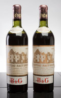 Red Bordeaux, Chateau Haut Brion 1953 . Pessac-Leognan. 2ms, 1fl. Bottle(2). ... (Total: 2 Btls. )