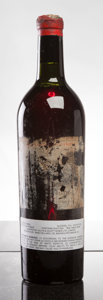 Red Bordeaux, Chateau Lafite Rothschild 1934 . Pauillac. ts, tal-mostlymissing, tc, cuc-exposing cork, cork branding visible below sh...(Total: 1 Btl. )