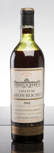 Red Bordeaux, Chateau Lafon Rochet 1945 . St. Estephe. ms, lbsl, ssos,sdc. Bottle (1). ... (Total: 1 Btl. )