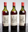 Red Bordeaux, Chateau Lagrange 1945 . St. Julien. 2ls, 1ms, 1lscl,outstanding color. Bottle (3). ... (Total: 3 Btls. )