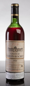 Red Bordeaux, Chateau Lafon Rochet 1955 . St. Estephe. hs, bsl, nl, sdc.Bottle (1). ... (Total: 1 Btl. )