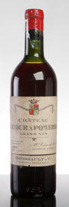 Red Bordeaux, Chateau Latour a Pomerol 1955 . Pomerol. hs, bsl, cuc-toreveal chateau and vintage fully branded cork. Bottle (1). ...(Total: 1 Btl. )
