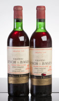 Red Bordeaux, Chateau Lynch Bages. Pauillac. 1961 vhs Bottle (1). 19701ts, 2vhs, 3lbsl, 1nl Bottle (3). ... (Total: 4 Btls. )