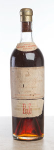 White Bordeaux, Chateau d'Yquem 1928 . Sauternes. hs, lbsl, lscl, light mahogany color. Bottle (1). ... (Total: 1 Btl. )