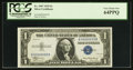 Small Size:Silver Certificates, Low Serial Number B00000033B Fr. 1607 $1 1935 Silver Certificate. PCGS Very Choice New 64PPQ.. ...