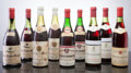 Red Burgundy, Clos Vougeot . 1964 Jaboulet-Vercherre 1(5cm), 1(6cm),2lbsl, 1sos, good color Bottle (2). Nuits St. Georges . ... (Total:9 Btls. )