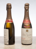 Champagne, Louis Roederer Vintage Champagne 1928 . Extra Dry, Great Britain Reserve. 2lbsl. Half-Bottle (2). ... (Total: 2 Halves. )