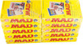 Memorabilia:Trading Cards, MAD Trading Cards - Full Case of Unopened Foil Pack Boxes (LimeRock, 1992)....