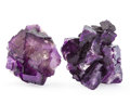 Minerals:Cabinet Specimens, FLUORITE. Illinois. USA. 5.37 x 5.33 x 2.5 inches (13.66 x 13.54x 6.37 cm). ...