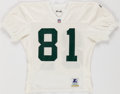 Football Collectibles:Uniforms, 1994 Anthony Morgan Practice Worn Green Bay Packers Jersey....