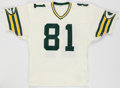 Football Collectibles:Uniforms, 1984 Gary Lewis Game Worn Green Bay Packers Jersey....
