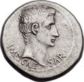 Ancients:Roman Imperial, Ancients: Augustus. (27 BC-AD 14). AR cistophorus (28mm, 11.44 gm,12h)....