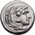 Ancients:Greek, Ancients: MACEDONIAN KINGDOM. Alexander III the Great (336-323 BC).AR tetradrachm (26mm, 17.30 gm, 11h). ...