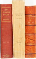 Books:Non-fiction, [Spanish Theatre.] Group of Three Books Related to Spanish Theatre. Various publishers and dates. Text in two written in Spa... (Total: 3 Items)