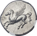 Ancients:Greek, Ancients: SICILY. Syracuse. Timoleon and the Third Democracy(344-317 BC). AR stater (23mm, 8.49 gm, 6h)....