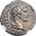 Ancients:Roman Imperial, Ancients: Augustus (27 BC-AD 14). AR denarius (19mm, 3.83 gm, 4h)....
