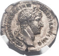 Ancients:Roman Imperial, Ancients: Hadrian (AD 117-138). AR denarius (21mm, 3.35 gm,6h). ...