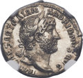 Ancients:Roman Imperial, Ancients: Hadrian (AD 117-138). AR denarius (20mm, 3.31 gm,7h). ...
