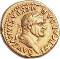 Ancients:Roman Imperial, Ancients: Vespasian (AD 69-79). AV aureus (20mm, 7.22 gm, 6h). ...