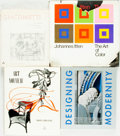 Books:Art & Architecture, [Art.] Group of Four Books Related to Art. Various publishers and dates.... (Total: 4 Items)