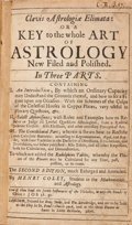 Books:Science & Technology, Henry Coley and Johannes Kepler. Clavis Astrologiae Elimata: orA Key to the Whole Art of Astrology New Filed and Polish...