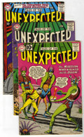 Silver Age (1956-1969):Horror, Tales of the Unexpected Group (DC, 1961-67) Condition: AverageVG-.... (Total: 9 Comic Books)