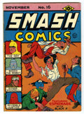 Golden Age (1938-1955):Superhero, Smash Comics #16 (Quality, 1940) Condition: FN....