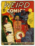 Golden Age (1938-1955):Horror, Weird Comics #2 (Fox Features Syndicate, 1940) Condition: FR....