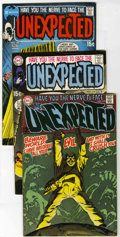 Silver Age (1956-1969):Horror, Unexpected Group (DC, 1968-75) .... (Total: 13 Comic Books)