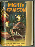 Silver Age (1956-1969):Science Fiction, Mighty Samson #1-31 Partial Issues Bound Volume (Gold Key, 1964-76)....